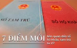 Từ 1/7 không cấp mới sổ hộ khẩu, tạm trú; bỏ rào cản đăng ký thường trú vào Tp Hà Nội