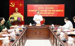 Đồng chí Đinh Tiến Dũng giữ chức Bí thư Đảng ủy Bộ Tư lệnh Thủ đô Hà Nội
