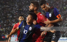 """Campuchia """"phá kỷ lục"""" tại vòng loại World Cup sau thất bại kinh hoàng"""