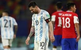 """Messi lập công, nhưng Argentina thêm một lần nếm trái đắng bởi """"khắc tinh"""""""