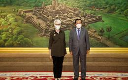Mỹ bày tỏ quan ngại về quan hệ Trung Quốc-Campuchia