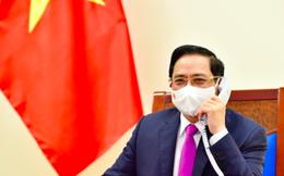 Thủ tướng Phạm Minh Chính điện đàm với Thủ tướng Trung Quốc