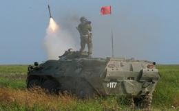 Hệ thống phòng không Strela-10M khai hỏa tiêu diệt mục tiêu giả định