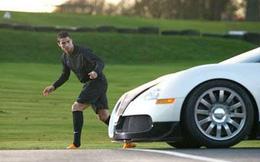 Xem 'mặt mũi' chiếc siêu xe chạy đua với Ronaldo trong clip quảng cáo