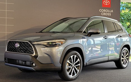 460 triệu là đủ để người Mỹ mua Toyota Corolla Cross có ga tự động thích ứng, hỗ trợ giữ làn, cảnh báo va chạm