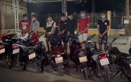 """TP HCM: Bị CSGT vây bắt, nhóm """"quái xế"""" tháo chạy vào hẻm, vứt xe nhưng vẫn không thoát"""