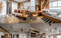 Căn chung cư 106m2 có tông màu lạnh, phong cách hiện đại khiến cộng đồng mạng mê mẩn
