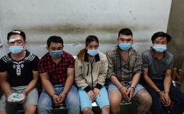 Tạm giữ 2 kẻ chích điện cô gái, đạp ngã xe máy để cướp lúc rạng sáng ở Sài Gòn