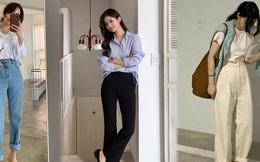 Nắm chắc trong tay 4 bí kíp sau, đảm bảo chị em không rơi vào tình trạng ''3 mét bẻ đôi'' khi mặc quần dài