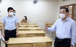 Chủ tịch Hà Nội đóng vai thí sinh, diễn tập phương án thi lớp 10