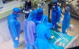 Trung tá công an ở quận Tân Phú mắc COVID-19 đang trong tình trạng diễn tiến nặng; Bệnh nhân COVID-19 thứ 55 tử vong