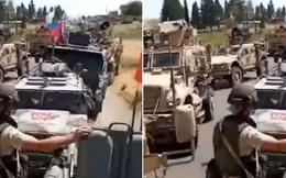Đụng độ ở Syria: Quân đội Mỹ bị 2 trực thăng, 4 xe bọc thép Nga chặn đứng
