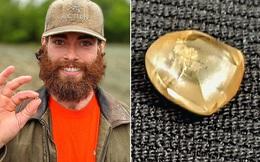 Đi khắp nước Mỹ tìm vàng làm nhẫn đính hôn, chàng trai trẻ  'trúng độc đắc' khi nhặt được viên kim cương 1,3 tỷ đồng siêu hiếm