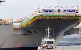 Tàu sân bay thứ hai của Ấn Độ sắp ra khơi, đối phó Trung Quốc ở Ấn Độ Dương