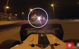 Mang xe đồ chơi ra đường... trêu cảnh sát: Xe rất nhanh - liệu có thoát?