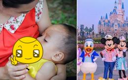 Chuyện hy hữu ở công viên Disneyland: Một bà mẹ đang cho con ''ti sữa'' thì bị bảo vệ ngăn cấm, nói ''ở đây tụi tui không làm vậy''