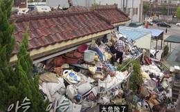 Lý do đau lòng khiến cụ ông 75 tuổi tích trữ 150 tấn rác trong nhà