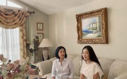 Hà Thanh Xuân thăm biệt thự hàng trăm mét vuông của Hồng Đào tại Mỹ