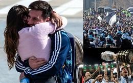 Messi gây xúc động khi mang chức vô địch Copa America trở về Argentina