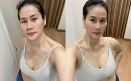 Bạn thân Hà Tăng khoe vóc dáng gợi cảm ở tuổi U50