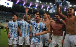 Fair-play như Messi: Trong men say vô địch không quên nhắc đồng đội tôn trọng đất nước Brazil