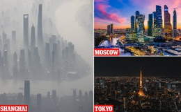 25 'siêu thành phố' tạo ra 52% lượng khí nhà kính độc hại cho toàn thế giới: 23 trong số đó là ở Trung Quốc!