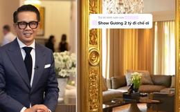 Thái Công gây choáng khi đặt vào nhà nữ đại gia tấm gương giá 2 tỷ, netizen kêu đưa 10 triệu mua về cho cái đẹp hơn