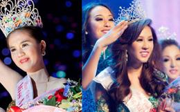 """Ngọc Trinh bị """"đào lại"""" quá khứ đăng quang Hoa hậu ao làng, netizen đặt nghi vấn vì 1 chi tiết giống với Thu Hoài?"""