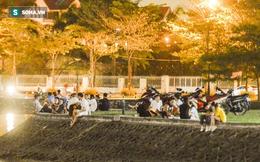 """Hà Nội: Hàng trăm nam thanh nữ tú ra công viên tập thể dục, ăn nhậu, """"tâm sự"""" thấy công an bỏ chạy toán loạn"""