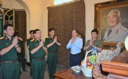 Đại tướng Phan Văn Giang tri ân các tướng lĩnh tiền bối
