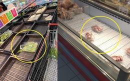 """Loạt ảnh siêu thị """"cháy hàng"""" ở Hà Nội được dân mạng chia sẻ, nỗi lo khan hiếm thực phẩm hay """"tự làm khổ mình""""?"""