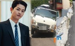 NÓNG: Song Joong Ki dính bê bối đầu tiên trong sự nghiệp, bị khiếu nại do xây dựng trái phép, gây tai nạn giao thông