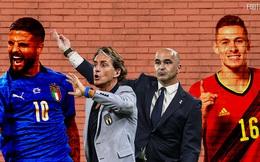 Đội hình Bỉ vs Italia: Siêu sao hội tụ