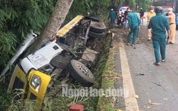 Lật xe trên đèo Bảo Lộc, 2 người tử vong tại chỗ