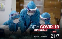 Hàng trăm người ở Hà Nội chen lấn chờ xét nghiệm COVID-19. TP.HCM cho F0 không triệu chứng cách ly tại nhà