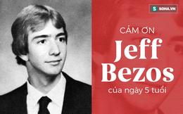 Bí mật cách đây 39 năm của Jeff Bezos: Động lực để tỷ phú 'đốt' 5,5 tỷ USD cho 10 phút du hành vũ trụ!