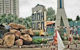 Cận cảnh chợ đầu mối lớn nhất Việt Nam trong những ngày phong tỏa chống COVID-19