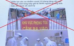 Lập tài khoản ảo bịa đặt thông tin dịch COVID-19 để vu vạ chị dâu