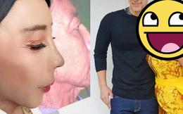 """Vừa gây choáng với diện mạo """"căng đét"""" mới nâng cấp, ''hot girl mặt nhàu'' Thái Lan lộ ảnh thật chưa qua chỉnh sửa khiến dân tình tranh cãi"""