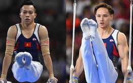 """Chênh lệch trình độ quá lớn, 2 """"hot boy"""" Thể dục dụng cụ Việt Nam ngậm ngùi chia tay Olympic"""