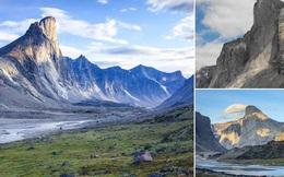 Cận cảnh ngọn núi dốc đứng nhất thế giới, đặt tên theo vị thần Sấm sét Bắc Âu