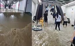 2 giờ kinh hoàng ''đối mặt với Tử thần'' của hàng trăm hành khách trên chuyến tàu bị mắc kẹt trong dòng nước lũ ''ngàn năm có một'' ở Trung Quốc