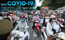 Sau chỉ đạo siết chặt, người dân TP.HCM đổ ra đường vẫn đông, có chốt lập hơn 10 biên bản trong 1 tiếng. 154 bệnh nhân COVID-19 tử vong