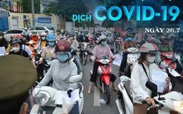Có ca dương tính, Hà Nội phong tỏa, xét nghiệm người dân quanh 39 Hàng Bài. Hôm nay, TP.HCM thêm 5.997 ca COVID-19, Hà Nội có 81 ca