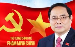 Infographic: Ông Phạm Minh Chính từ cán bộ Tình báo Công an đến lần thứ hai đắc cử Thủ tướng Chính phủ