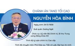 [Infographic] Lần đầu tiên Chánh án TAND Tối cao là Uỷ viên Bộ Chính trị