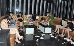 Khởi tố vụ gần 50 dân chơi, tiếp viên nữ 'mở tiệc' ma túy trong quán karaoke