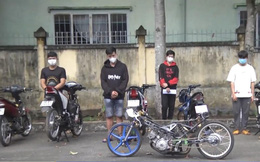 Lên mạng gạ nhau đua xe, nhóm thanh niên bị khởi tố