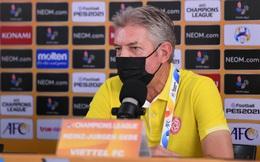 """HLV Viettel: """"Tôi không đổ lỗi cho trọng tài"""""""