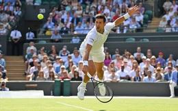 Wimbledon: Djokovic trở thành tay vợt đầu tiên thắng ít nhất 75 trận ở từng Grand Slam